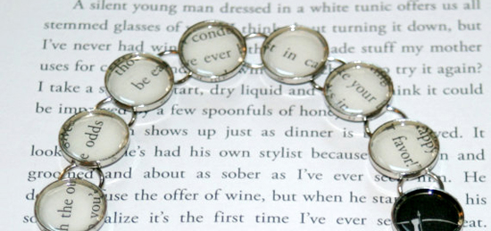 Custom Literary Bracelet